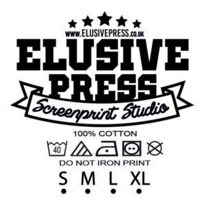 Elusive Press Nape Printing