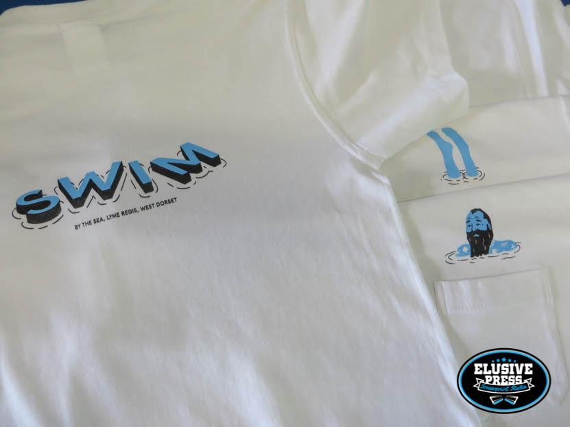 pocket t-shirt screen print bristol