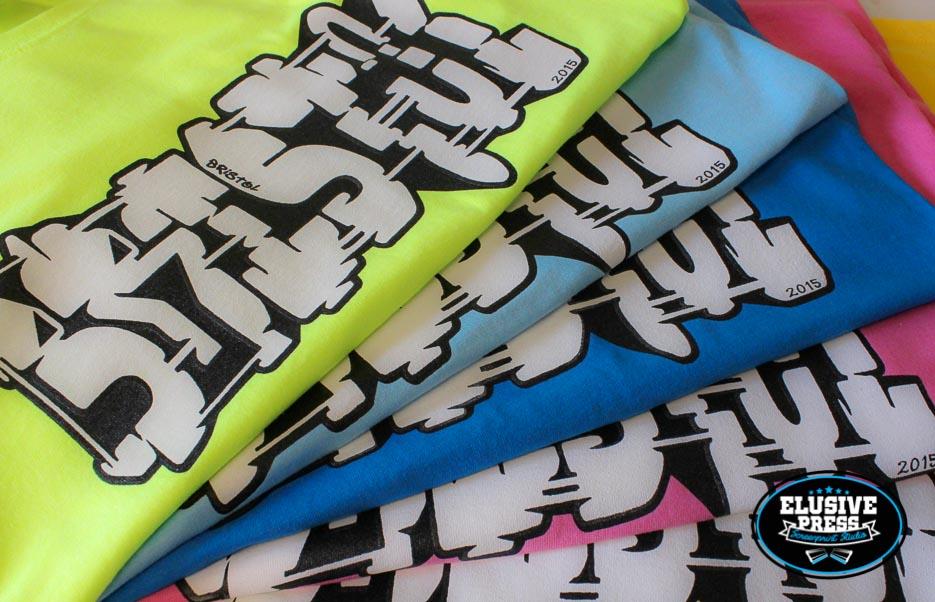 'Where The Wall' Bristol graffiti tours t-shirt run