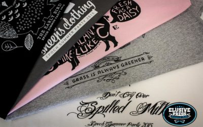Epoch Design, Staff Summer Party T-Shirt Prints 2015