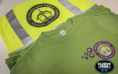 St.Werburgs Community Center, T-Shirts And High Vis Vests