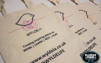 Tote Bag Screen Printing for 'WyldeIA'