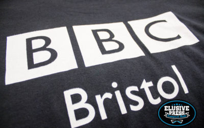 Single Colour T Shirts with Pocket Prints for BBC Bristol