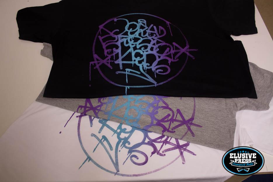 T Shirt Printing For Bristol Graffiti Crew 'DirtyBristolKids'