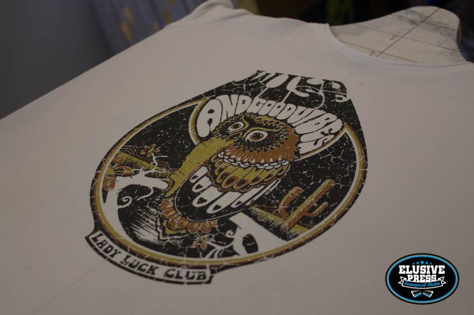 3 Colour T-Shirt Printing + Custom Nape Label Prints