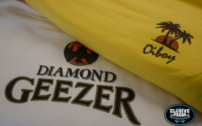T shirt Printing For Bristol Based Clothing Brand 'Oiboy'
