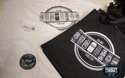 Single Colour T Shirt and  Tote Bag Screen Printing.