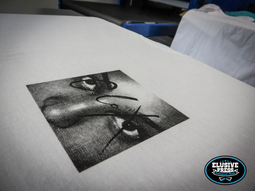 T Shirt printing for Bristol's 'Black Acre' Record Label.