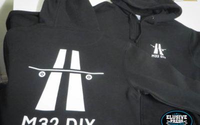 T Shirt And Hoody Screen Printing For M32 DIY Skate Spot