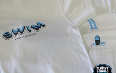 Custom Pocket T-Shirt Printing For Cafe/Bar Staff Uniform.