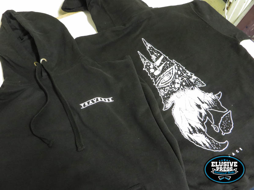 Custom Hoodie Printing For 'Traverse Clothing'