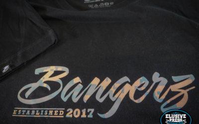 3 Colour T Shirt Printing For Bangerz Clothing