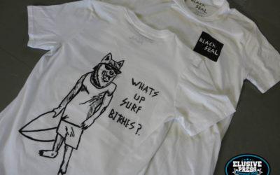 Custom T Shirt Printing For 'Black Seal, Cornwall'